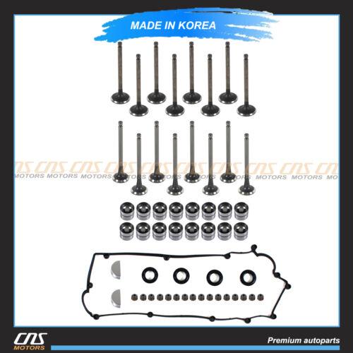 Intake /& Exhaust Valve /& Lifters /& Stem Seal /& Valve Cover Fits Hyundai Kia 1.6L