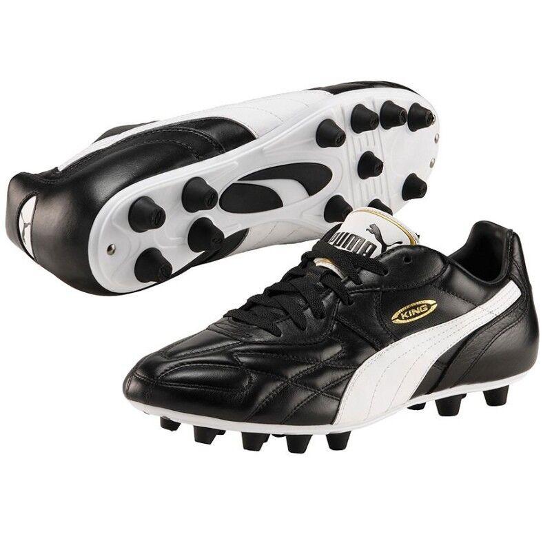 Puma King Top di FG Fußballschuhe schwarz / weiß