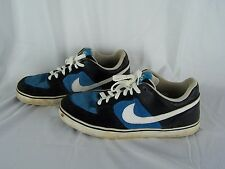 Nike 6.0 Skateboarding Sneaker Shoes Size 11 Navy Blue & Baby Blue