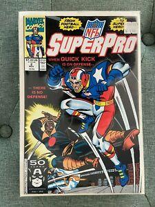 SuperPro #2 (1991) Marvel Comics NM