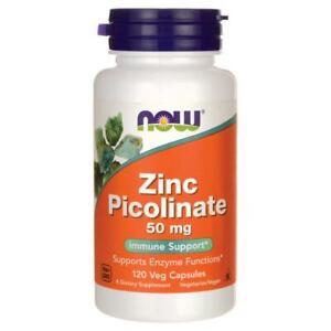 Now Foods Zinco Picolinato 50 MG 120 Vcaps