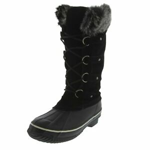 Kreated-Equal-Faux-Fur-Women-039-s-Tall-Arctic-Winter-Boots-Cruelty-Free-Lightw