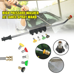 High-Pressure-Washer-Jet-Lance-Spray-Wand-5-Nozzle-Tips-1-4-for-Karcher-K1-K7