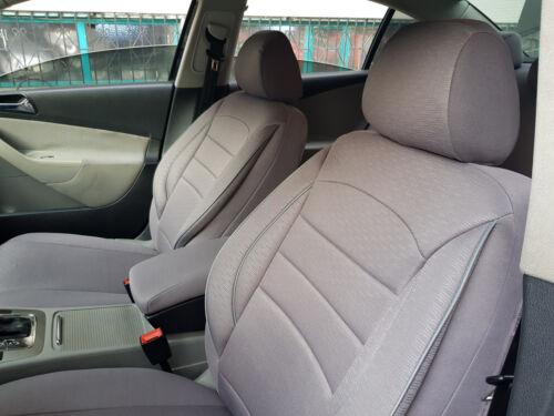 Sitzbezüge Autositzbezüge für Volvo XC90 grau V860115 Vordersitze