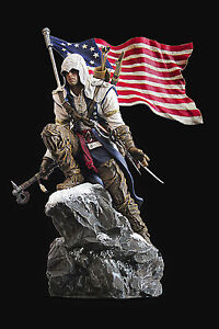 Assassin S Creed 3 Iii Connor Figure Statue From Freedom Edition