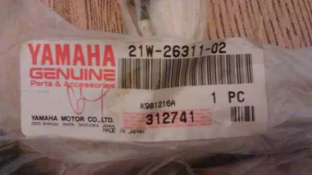 YAMAHA Cable 21W-26321-02 OEM PW80 Pump