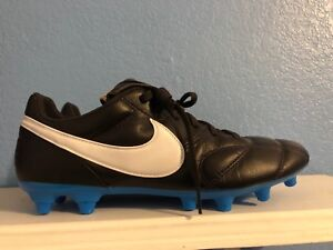 100% authentic 0b093 a1211 Image is loading Nike-Premier-II-FG-Leather-Soccer-Cleats-Brown-