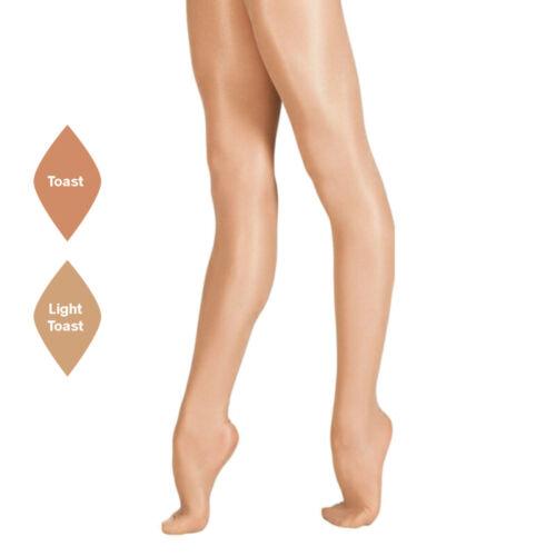 Children Girls Kids Full Foot SHIMMER Dance Ballet Tap Dance Tights With Spandex