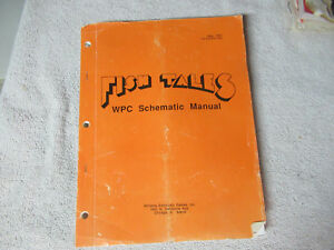FISH-TALES-SCHEMATICS-ONLY-WPC-ORIGINAL-WILLIAMS-pinball-machine-manual