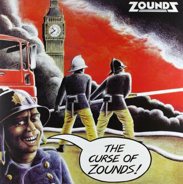 Zounds The Curse Of Zounds 2015 UK coloured vinyl LP NEW/UNPLAYED 500-copies