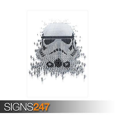 Star Wars Stormtrooper Poster Print T260 A4 A3 A2 A1 A0 