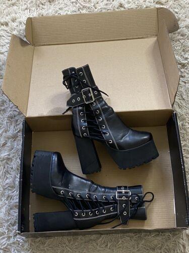 Dolls kill Platform Boots US Size 9