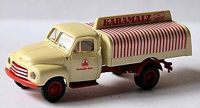 In Active Opel Blitz Flatbed Truck 1952-60 Henninger Karamalz 1:87 Brekina Fashionable Style;