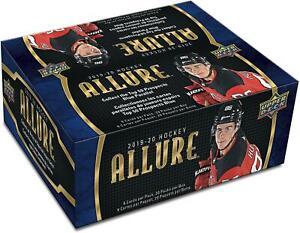 2019-20-Upper-Deck-Allure-Hockey-Factory-Sealed-20-Pack-Box