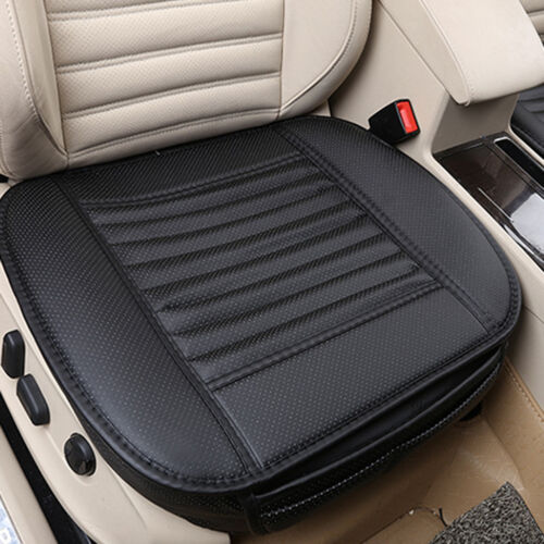 3D PU Leather Full Surround Front Car Seat Cover Padded Protector Cushion NEW