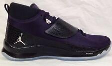 925c875207ae40 Air Jordan Super Fly 5 PO Mens Shoes 10 Black Purple 2016 Basketball  881571-501