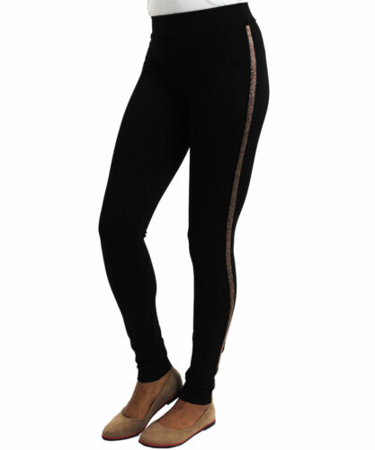 Womens High Waisted Stretchy Elastic Waist Girl Leggings Trousers Ladies Jegging