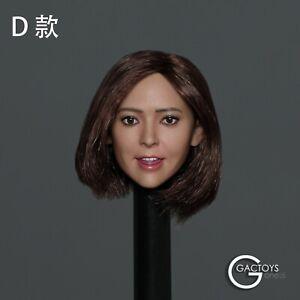 DSTOYS 1:6 Scale Action Figure Girl Female Head Sculpt