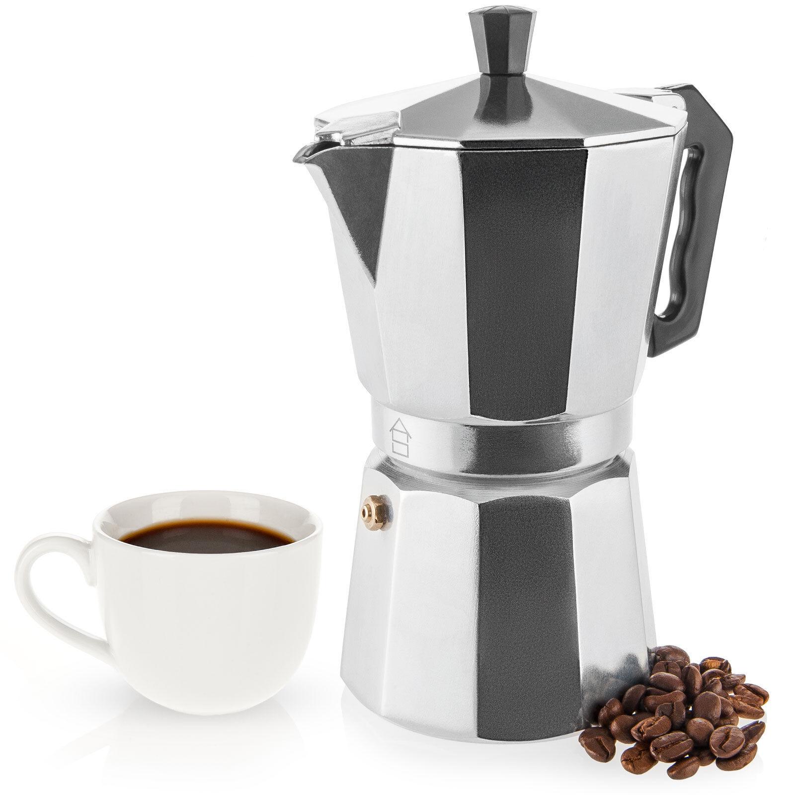 New 6 Cup 350mi Italian Espresso Stove Top Coffee Maker Percolator Pot Ebay