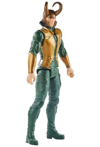 """2019 Avengers Marvel Titan Hero Series Blast Gear Loki Action Figure 12/"""" NISB"""