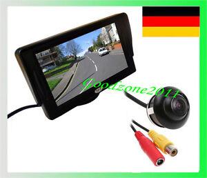 4-3-034-TFT-LCD-Monitor-Rueckfahrkamera-Kit-HD-Farbe-Rueckfahrkamera-um-360-drehba