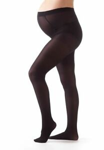 Bellissima-Women-039-s-Maternity-Tights-Black-50-den-Pregnancy-Hosiery