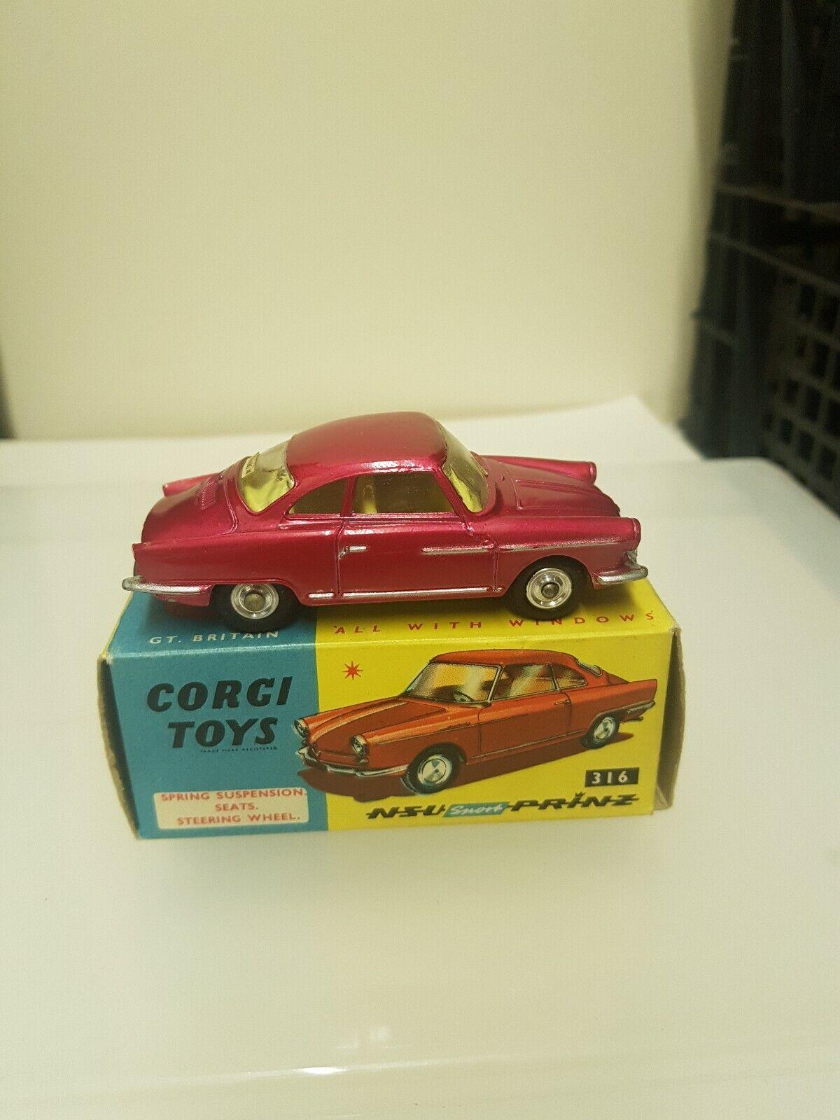 CORGI 316 NSU SPORT-PRINZ-NICE EXAMPLE