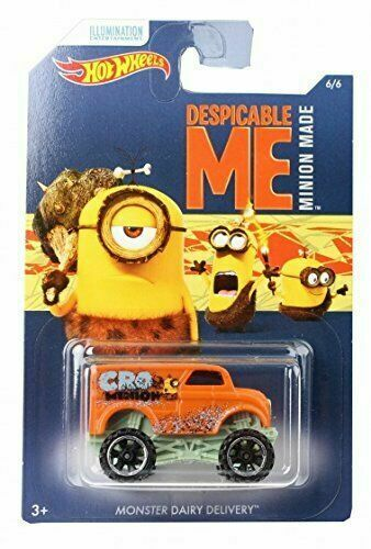 Hot Wheels Despicable Me Minion Made Complete Collection Full Set Of 6 Dwf12 For Sale Online Ebay