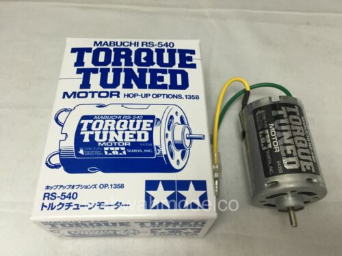 Tamiya RS-540 Torque-Tuned Motor EP 4WD RC Cars Buggy Drift Touring Truck #54358