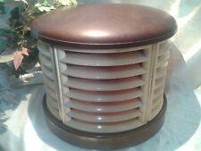 HMV Art Deco Vintage 'Beehive' Electric Fan Heater / Lamp - 1940's