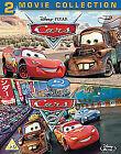 Cars / Cars 2 (Blu-ray, 2011, 2-Disc Set, Box Set)