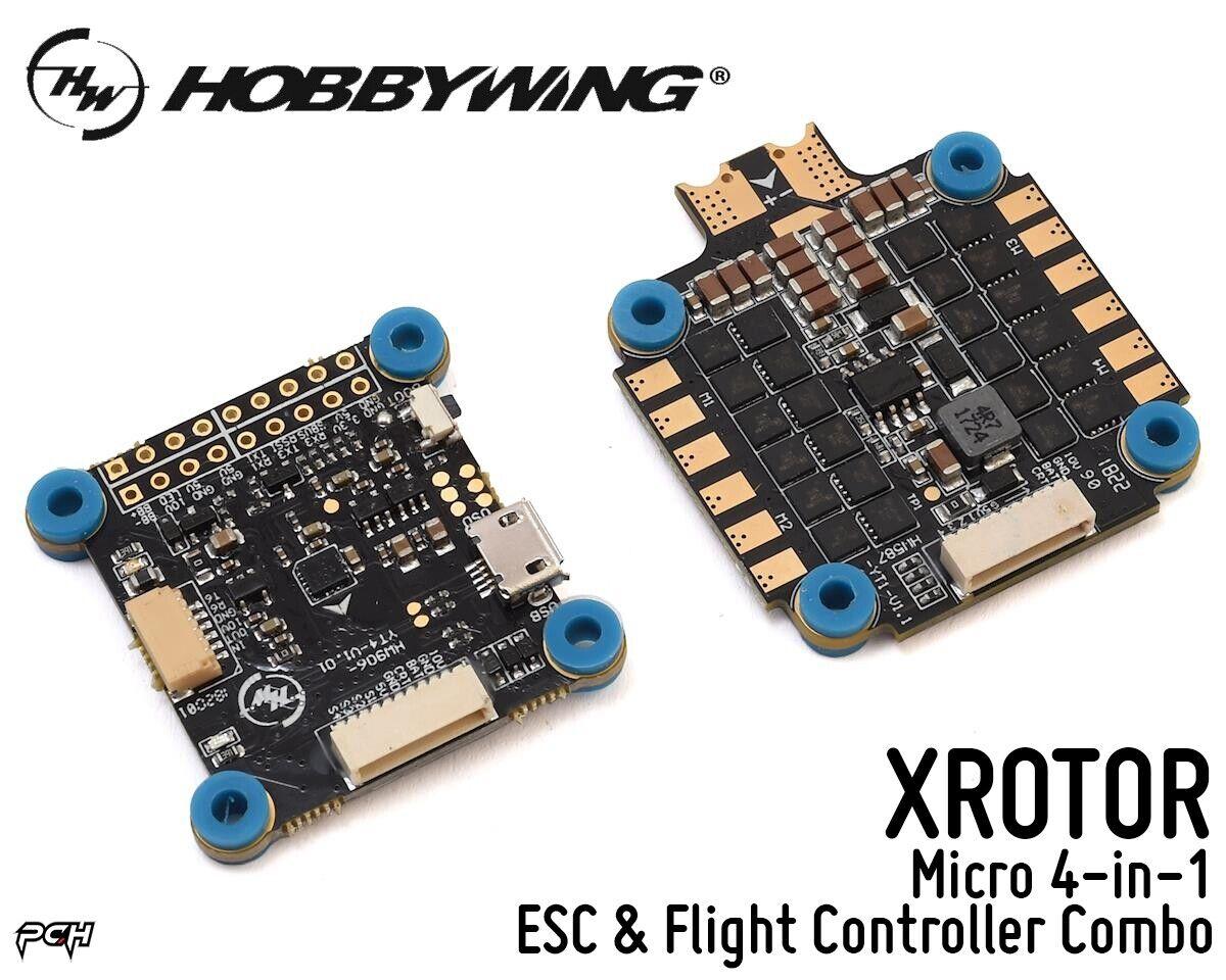 HOBBYWING XrojoOR FPV DRONE Micro 4 en 1 Esc & Controlador De Vuelo Combo 38040300