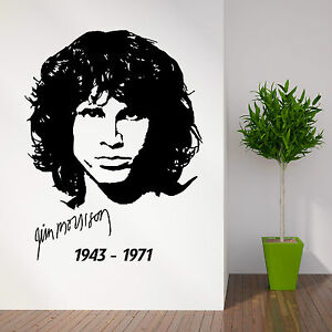 Image is loading JIM-MORRISON-THE-DOORS-vinyl-wall-art-sticker-  sc 1 st  eBay : doors jim - pezcame.com