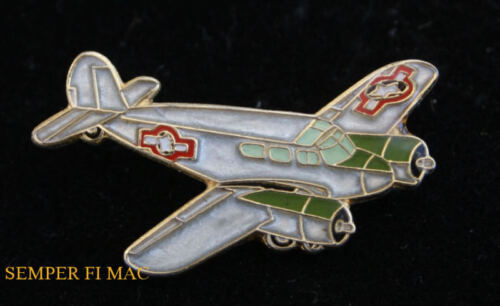 T50 UC78 BAMBOO BOMBER HAT PIN US ARMY AIR CORPS USA AIRPLANE PILOT AIRCREW