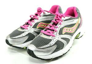 Running Shoes Size 8.5 Gray Pink