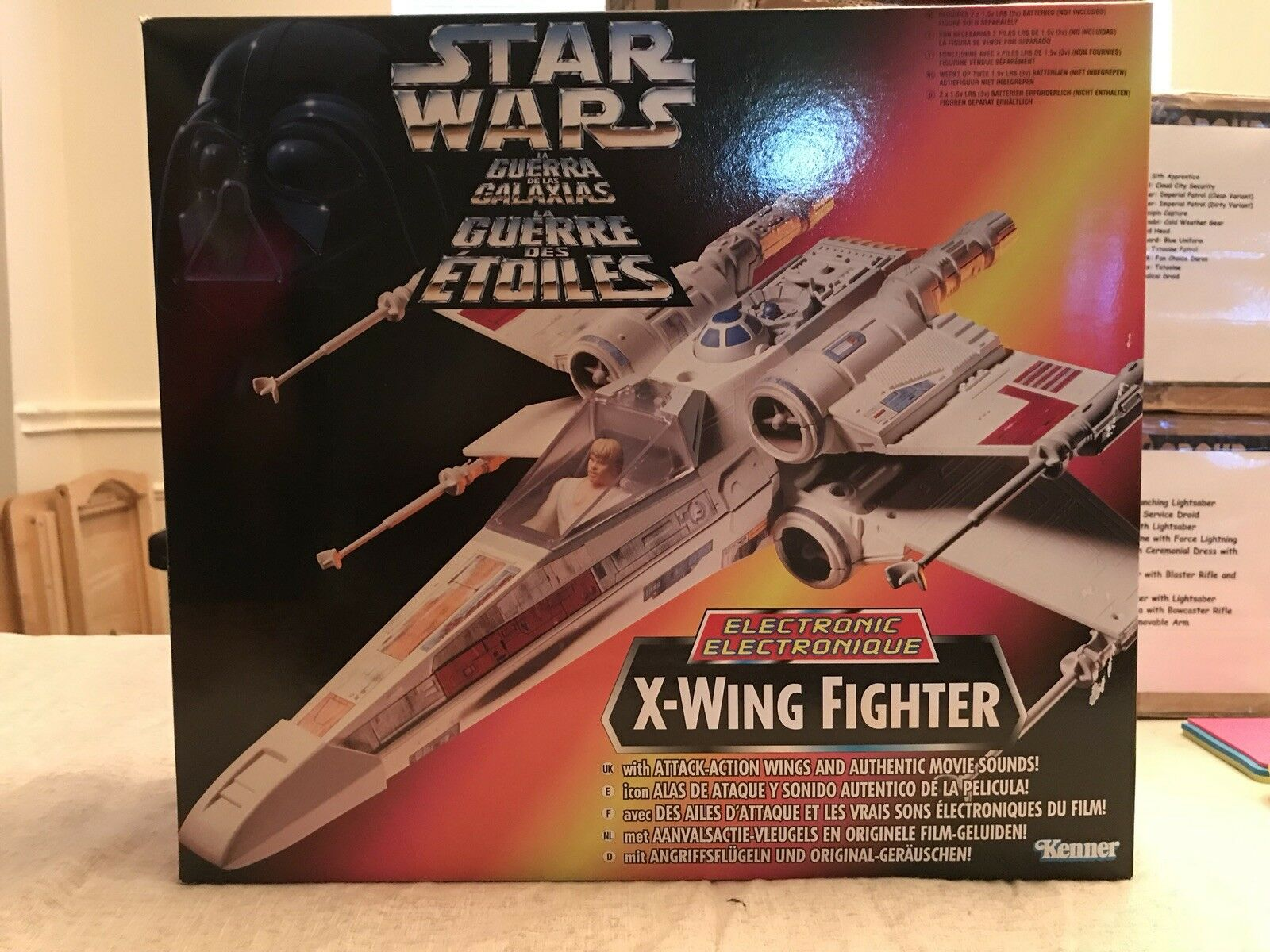 Star Wars The Power Of The Force Tri-Logo X- Wing Fighter