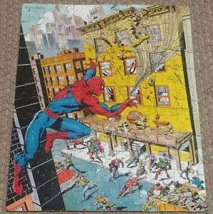 VINTAGE-1980-MARVEL-COMICS-THE-AMAZING-SPIDER-MAN-JIGSAW-PUZZLE-100-PCS
