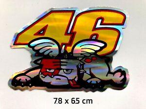 Details Zu Valentino Rossi 46 Aufkleber Autoaufkleber Motorrad Helm Tablet Stoßstange A17
