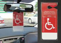 Set Of 2 - Handicap Placard Holders - The Original Made In Usa