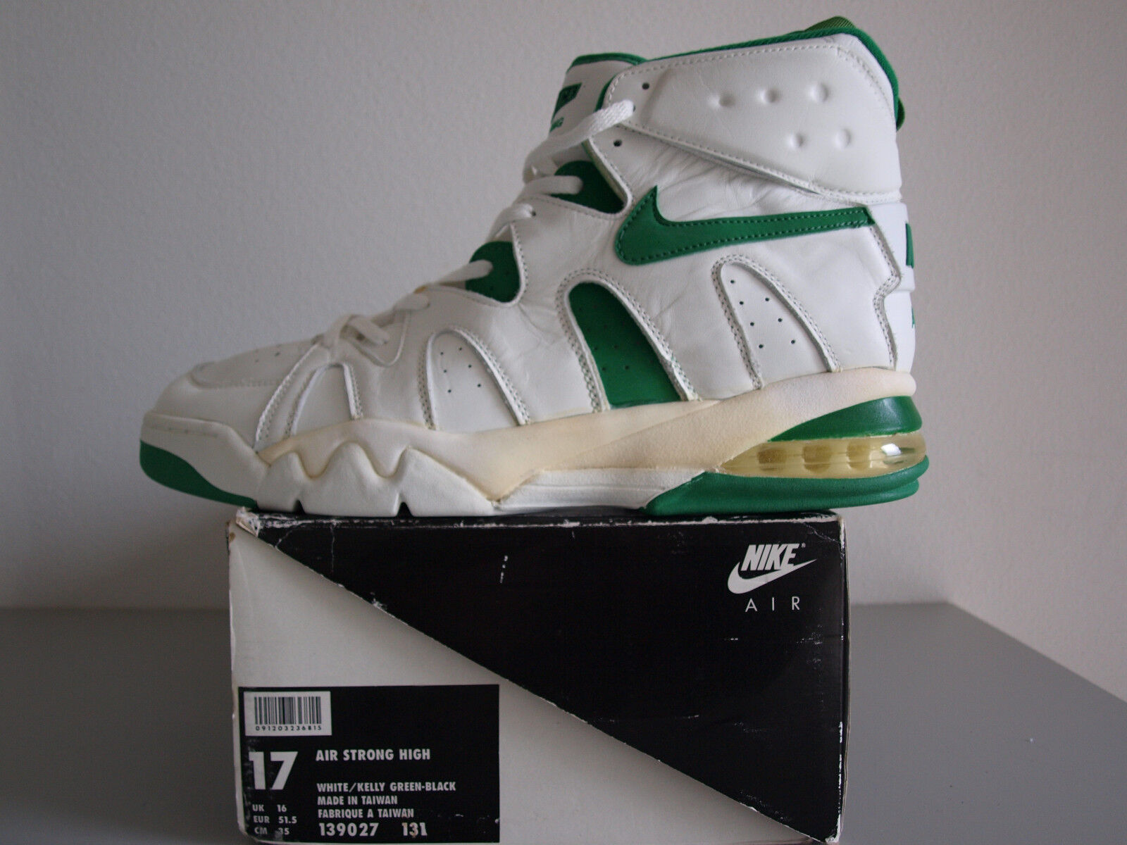 Nike Air Max Force Strong High 1994 US 17   Eur 51,5 Vintage Basketball shoes