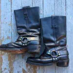 Vintage 80s Men's FRYE Boots Sz 11D