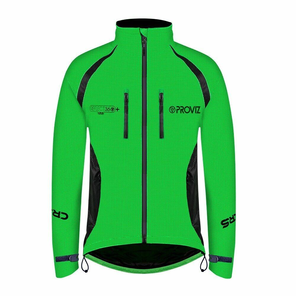 Proviz reflejan 360 CRS para Hombre Hi Viz Ciclismo Plus  Chaqueta de alta visibilidad  mas preferencial