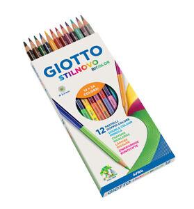 12 verschiedene Farben NEU 24 Buntstifte Buntstifte