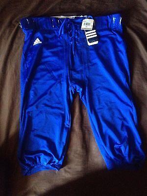 Adidas American Football Pants Team Performance Royal Blue Size 3XL