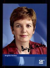 Brigitte Henkes Autogrammkarte Original Signiert # BC 59238