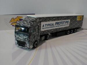 Herpa 308434 MAN TGX XlX visillos planear-remolcarse Hella Erlkönig Truck Ht642