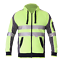 Hi-Vis-Jacket-Hoodie-Jumper-3M-Reflective-Fleece-Zip-AS-NZS-1906-4-4602-1-2011 thumbnail 8