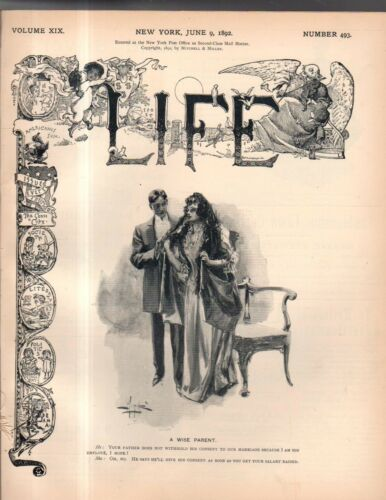 1892 Life June 9 Should the Church run the saloons? Mormons leave Liverpool