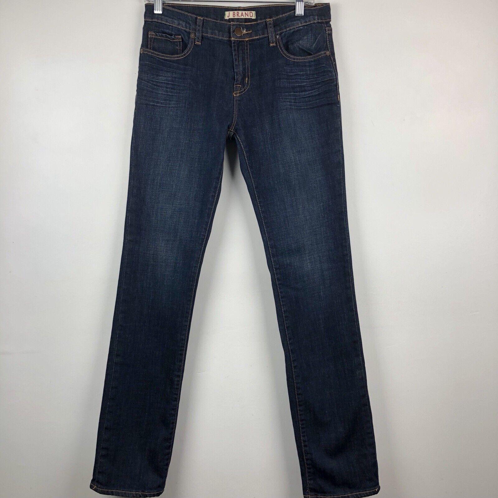 J Brand Jean's Women's Cigarette Leg Size 31 Dark bluee