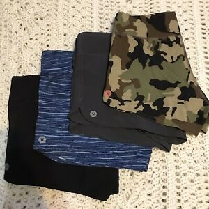4 Pair Wodlife Workout Shorts Crossfit Size S